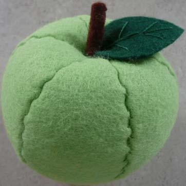 ... ke pusat apel dengan menggunakan lem tembak dan jadilah apel kita
